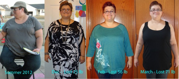 Weight Loss, November 7 2012 to current